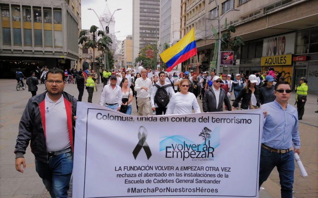 Colombia, unida en contra del terrorismo